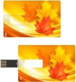 Print Shapes Autumn wave Credit Card Shape