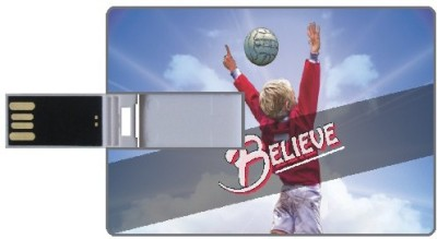 Design worlds Believe DWPC87309 8 GB  Pen Drive (Multicolor)