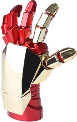 Sam Iron Man Hand 16 GB Pen Drive (Red, Gold)