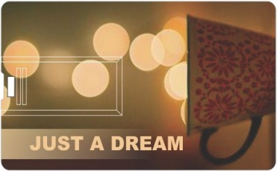 Printland Credit Card Just A Dream 8 GB  Pen Drive (Multicolor)
