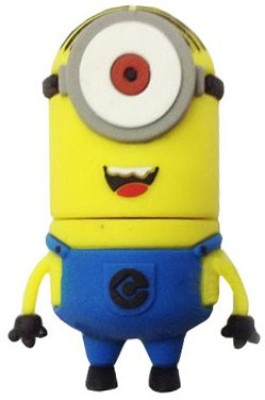Quace Minion Stuart One Eye 8 GB  Pen Drive (Multicolor)