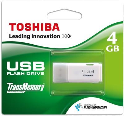 Toshiba Hayabusa 8 GB Pen Drive (White)