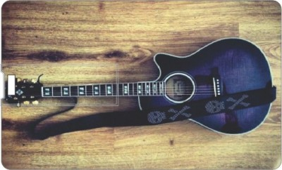 Printland Blue Guitar PC160236 16 GB  Pen Drive (Multicolor)