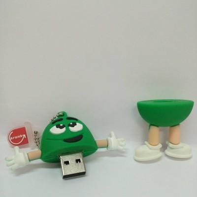 Vibes P-080 16 GB  Pen Drive (Green)