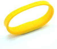 Smiledrive Super Fast USB 3.0 Wristband 32 GB Pen Drive (Yellow)