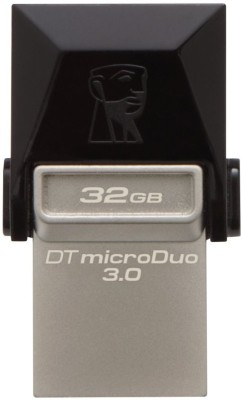 Kingston DataTraveler OTG 32 GB  Pen Drive (Black)
