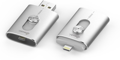 Gmobi GH07 External Storage for iPhone / iPad 32 GB  Pen Drive (Silver)