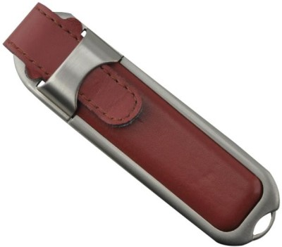 ATAM AEL-02 Leather 8 GB  Pen Drive (Brown)