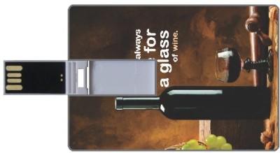Design worlds Glass DWPC87336 8 GB  Pen Drive (Multicolor)