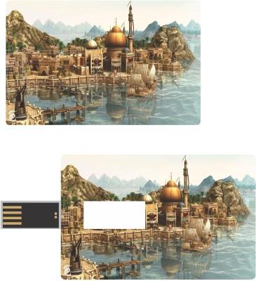 Print Shapes GOLDEN FORT Credit Card Shape