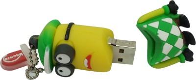 Vibes P-046 16 GB  Pen Drive (Green)