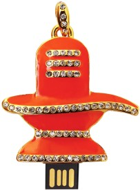 Enter USB Flash Drive 8GB (Shiva) 8 GB  Pen Drive - Orange