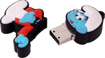 Yes Celebration Smurf 4 GB  Pen Drive (Blue)
