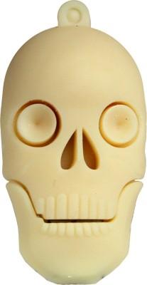 Zeztee Skull Shape 8 GB  Pen Drive