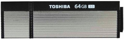 Toshiba USB3OsBk 64 GB  Pen Drive (Black)