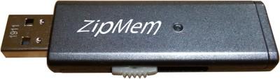 Zipmem S5 Utility USB 2.0 16 GB  Pen Drive (Silver)