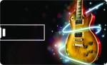 Printland Credit Card Black & Guitar