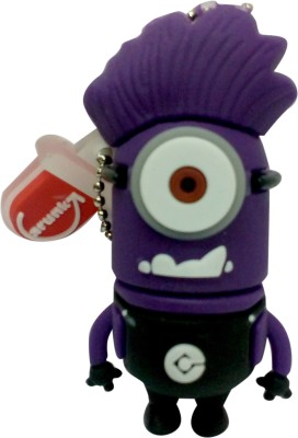 Vibes P-024 16 GB  Pen Drive (Purple)