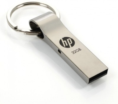 HP V-285-W 32 GB Utility Pendrive (Grey)