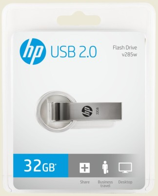 HP V 285W 32 GB  Pen Drive (Grey)