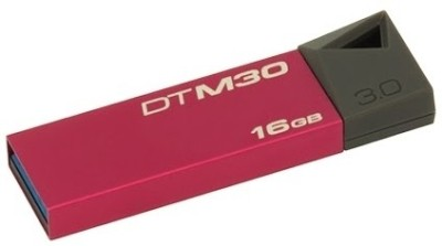 Kingston DTM30 16 GB  Pen Drive (Maroon)
