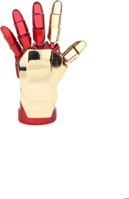 Huppme Iron Man Robotic Palm Pen Drive 8 GB  Pen Drive (Red, Gold)
