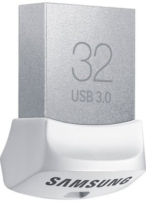 Samsung MUF-32BB/IN USB 3.0 32 GB  Pen Drive (White)