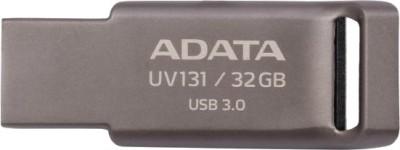 ADATA AUV131-32G-RGY 32 GB USB 3.0 Utility Pendrive (Grey)