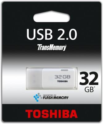 Toshiba 32 GB Utility Pendrive (White)