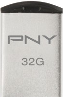 PNY USB Flash Drive Micro M1 Attache 32 GB 32 GB Utility Pendrive (Silver)