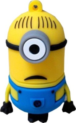 Sam Despicable Me Minions 8 GB  Pen Drive (Yellow)