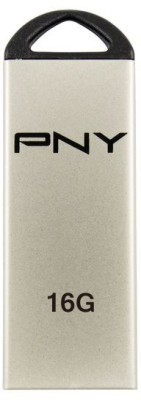 PNY USB Flash Drive M1 Attache 16GB 16 GB  Pen Drive (Silver)