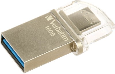 Verbatim V49825 16 GB  Pen Drive (Grey)