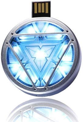 ENRG Arc Reactor 16 GB  Pen Drive (Silver, Blue)