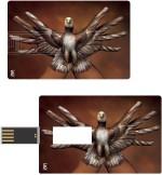Print Shapes Hands eagle Credit Card Shape