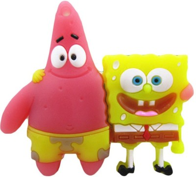 Chinmayi Sponge Bob 16 GB  Pen Drive (Multicolor)
