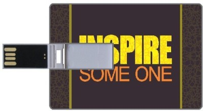 Design worlds Inspire DWPC87323 8 GB  Pen Drive (Multicolor)