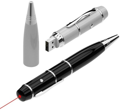 Schnell Pen Cum Laser Pointer 4 GB  Pen Drive (Black)