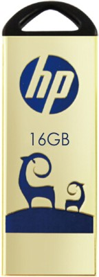 HP V231W 16 GB  Pen Drive (Gold)
