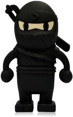 Quace Ninja 16 GB  Pen Drive (Black)