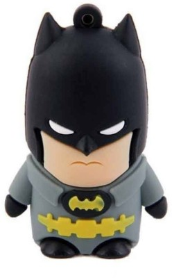 Quace Batman 4 GB  Pen Drive (Multicolor)