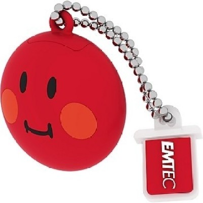 EMTEC Smiley's World 8 GB  Pen Drive (Red)