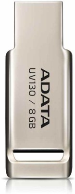Adata Flash Drive UV130 8 GB  Pen Drive (Gold)