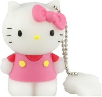 Dragon 3D Cartoon Hello Kitty Shape Toy 8GB Capacity Cute Flash Drive Memory Stick 8 GB  Pen Drive (Multicolor)