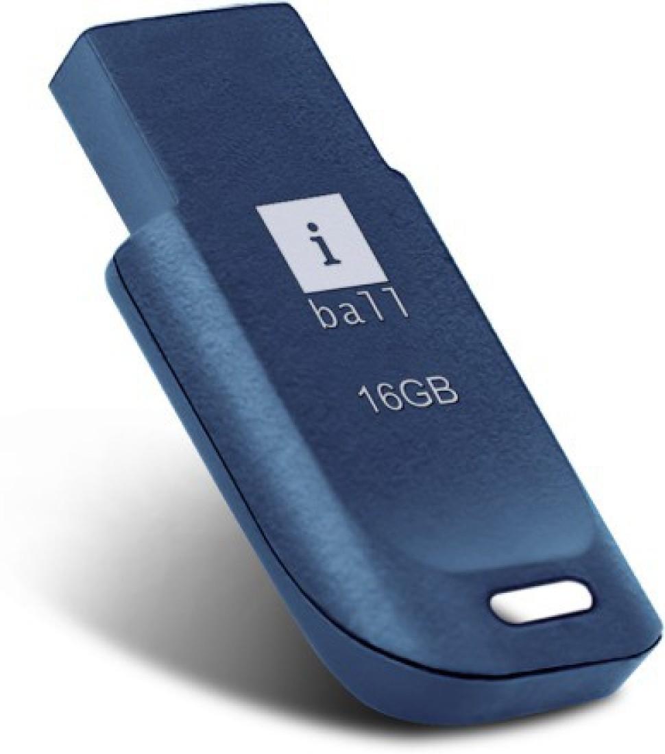 iball (CREST P9) 16 GB USB 2.0 Pen Drive