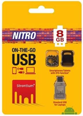 Strontium OTG Nitro 8GB Pen Drive