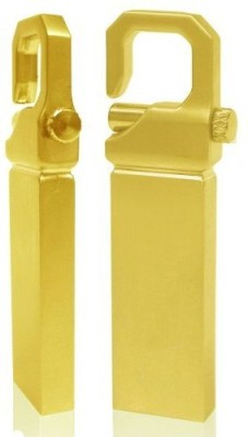 Turning Heads Pendrive-8-1082G 8 GB  Pen Drive (Gold)