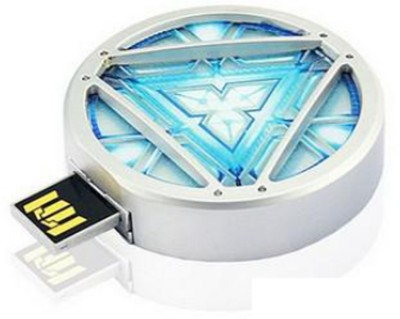 Portronics POR 453 8 GB  Pen Drive (White)