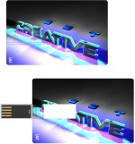 Print Shapes Colorful creative Credit Card Shape