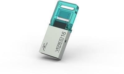 axl VERICO (AXL) PENDRIVE (cyan) 16 GB  Pen Drive (Silver)